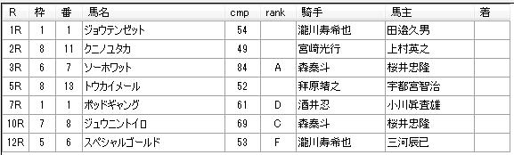 南関競馬 第10回川崎競馬3日目 2014年12月17日 見解予想