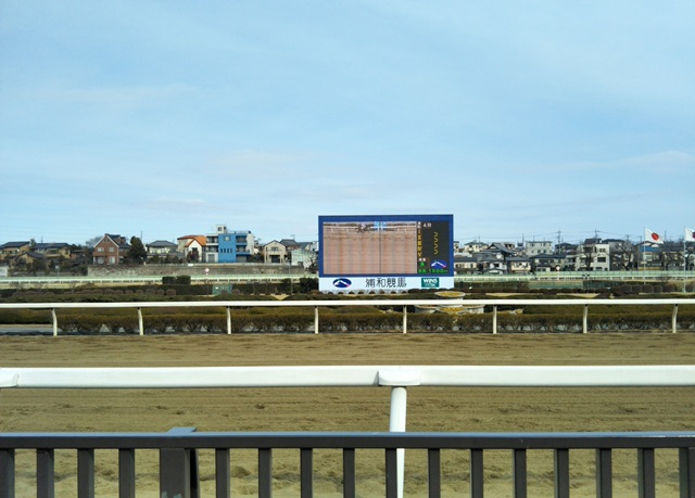 2月14日 浦和競馬場へ行ってきました。